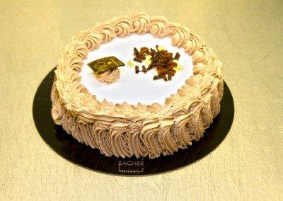 Tarta nata y trufa