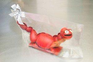 Mona dragón rojo