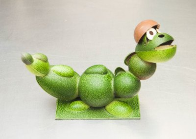 Mona dragón verde