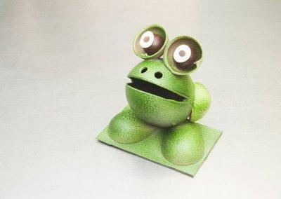 Mona rana verde