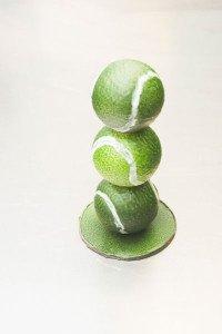Mona pelotas tenis
